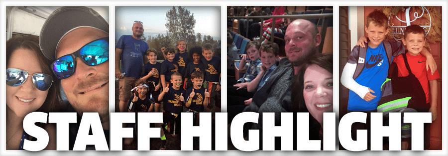 Staff Highlight – Dustin & Shannon Lundberg