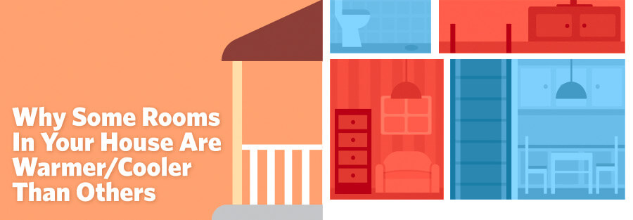 Why Some Rooms in Your House are Warmer or Cooler Than Others